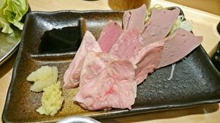 豚冷製三点盛り@串揚げの四文屋